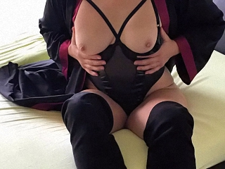 Sexy-Hausfrau